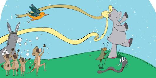 hippo-dancing